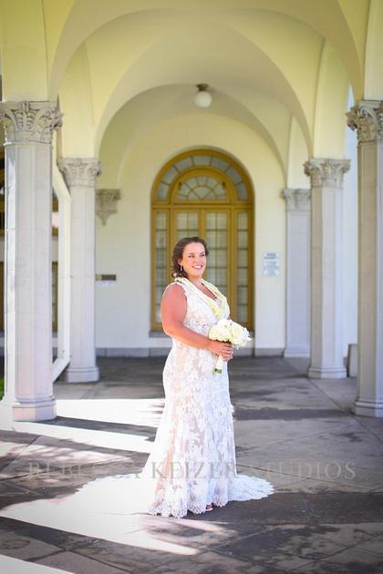 Iolani Palace Wedding Rebecca Keizer Studios...